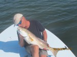 25 LB REDFISH ON FLY IN THE LAND OF GIANTS