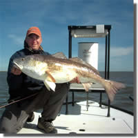 John Sherman with a nice redfish