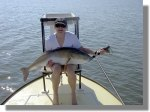 Kimberly's IGFA World Record Redfish on Fly