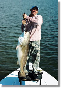 Conway Bowman's record fish