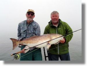 Tony Kirk, our biggest redfish to-date!