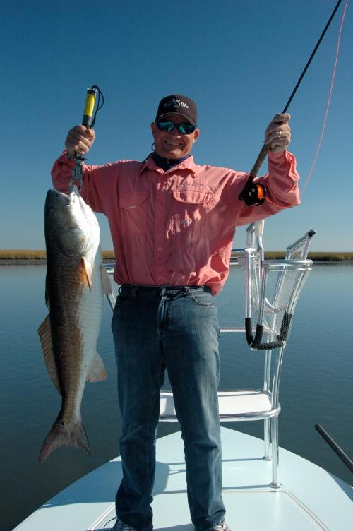 Doug Behrman with a nice fish!