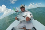 35lb Permit, with Capt. Will Benson in Key West